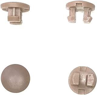 Asia Buy 10pcs Horizontal Blinds Plastic Bottom Rail Ladder Cord Button Plug 1/2