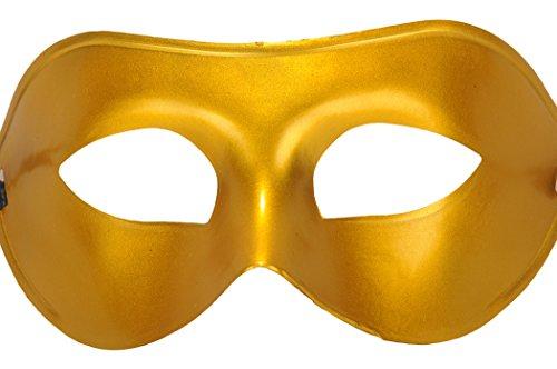 Gold Venetian Half Face Masquerade Ball Masks