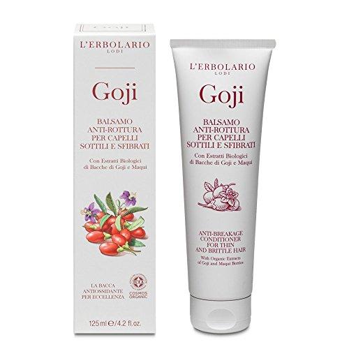 L 'Erbolario Goji anti-casse Revitalisant pour cheveux fins et fragiles