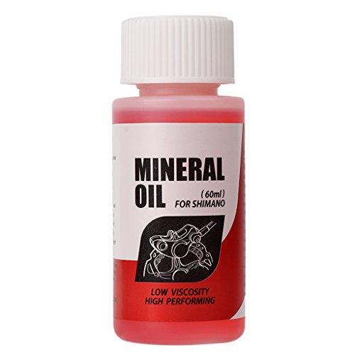 Lergo Bremsflüssigkeit für Fahrradbremsen, Mineralöl, 60 ml für Shimano