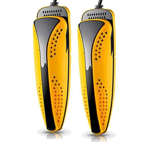 LHJXXKQ Mini schoenendroger, skischoendroger, schoenwarmer, oplossing stinkende natte schoenen, dual kern-schuiver, intelligente timer, klein en handig