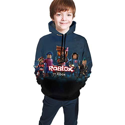 Fleece Pull Over Sweatshirt for Boys Girls Kids Youth Hat Dog Unisex Toddler Hoodies