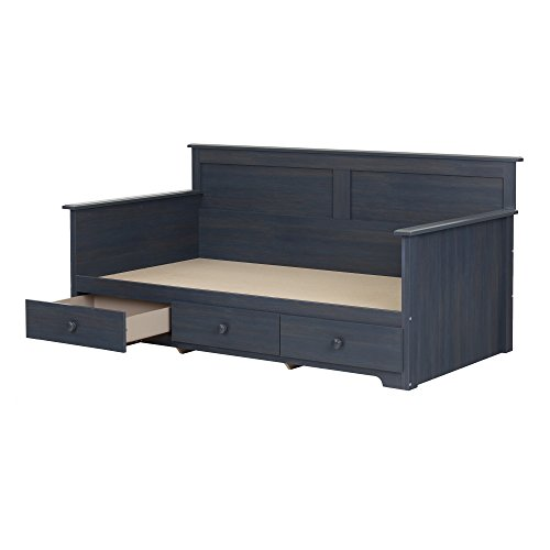 South Shore Daybed with 3 Storage Drawers, Blueberry