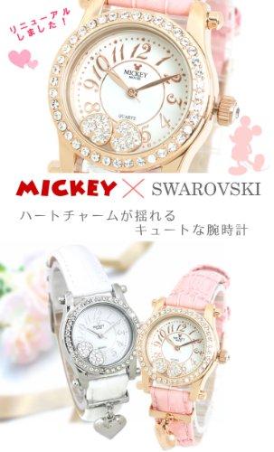 『Disney(ディズニー) 腕時計 ミッキー×スワロフスキー レディース時計』の3枚目の画像