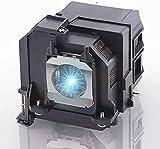 Lámpara proyector de repuesto para Epson ELPLP79/80 V13H010L79/80 Home Cinema EPSON BrightLink 575Wi EB-570 EB-575W EB-575We EB-575WiEPSON EB-575Wie EPSON PowerLite 570 575W con carcasa