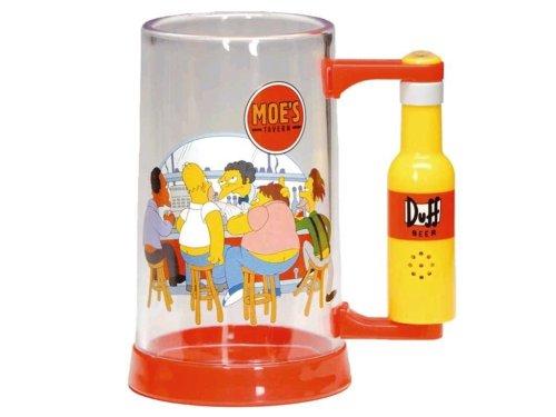 United Labels 0804199 - Jarra de Cerveza con diseño de los Simpson (al apretar un...