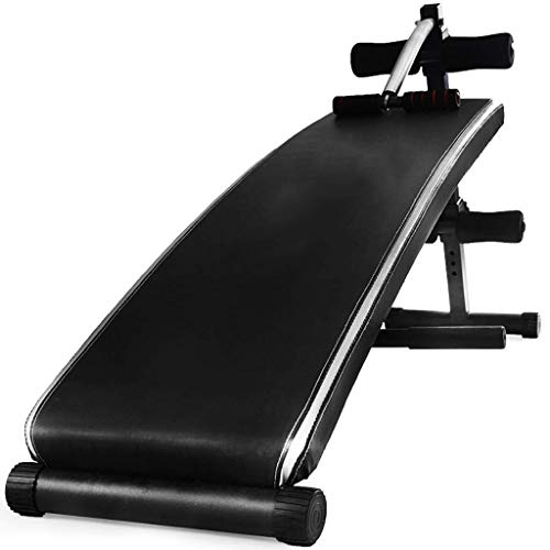 Review Of Multifunctional Folding and Long Thickening Supine Board Bed Sit-Ups Abdominal Muscle Fitn...