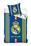 Real Madrid - Juego de Cama, Multicolor, 135 x 200 cm