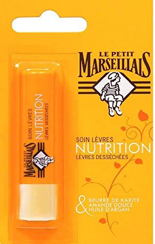 Le Petit Marseillais - Soins des Lèvres Stick - Lèvres Nourrissant / Lèvres Desséchées