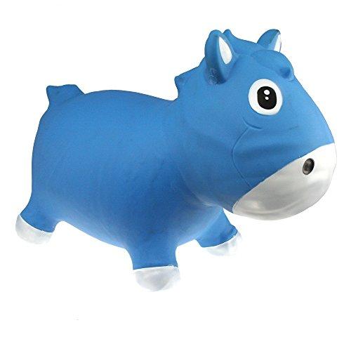 Vital Innovations KFPO130203 - Hüpftier Harry the Horse, blau