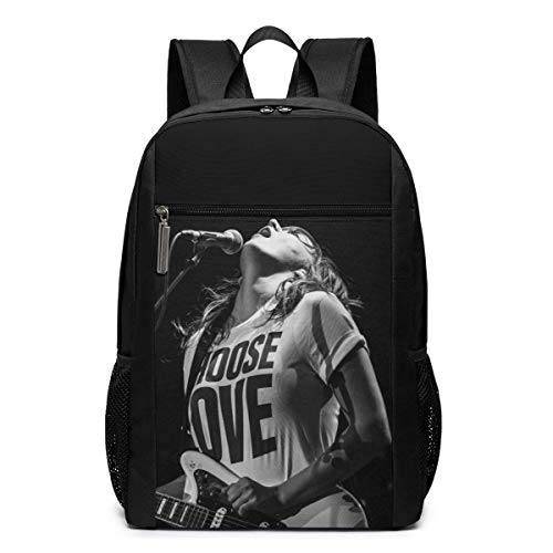 Lawenp Courtney Barnett Backpack 17 Inch Laptop Bags College School Backpack Casual Daypack for Travel