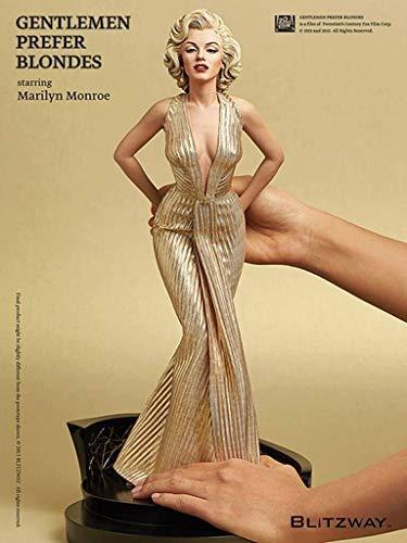 DHL Marilyn Monroe schattige schoonheid Marilyn Monroe standbeeld model doos decoratie 40CM