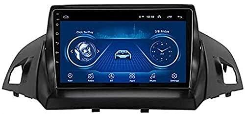 SONGYU Autoradio GPS per Ford Kuga Escape C-Max 2013-2016, Navigazione GPS Navigatore per Auto Navigatore satellitare Bluetooth autoradio (Colore: WiFi: 1 + 16G)
