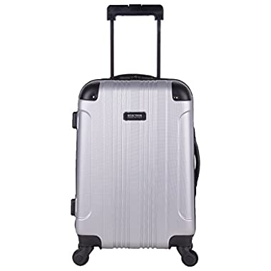 Kenneth Cole Reaction Out of Bounds 20  Carry-on, Lt Silver