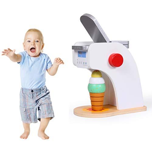 Pppby 1 Pieza Utensilios de Cocina Conjunto de Juguete Batidora de Juguete Tostadora Pre Educación Juguetes para Regalo de Cumpleaños Niños Pequeños Regalo de Día de los Niños