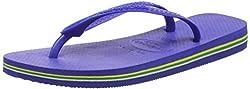 Havaianas Unisex-Erwachsene Brasil Zehentrenner, Blau (Marine Blue), 35/36 EU