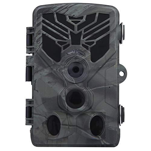 TAKE FANS Trail Camcorder-HC-810A Caza al Aire Libre 1080P 20MP Cámara Impermeable de visión Nocturna Trampa de Infrarrojos Videocámara