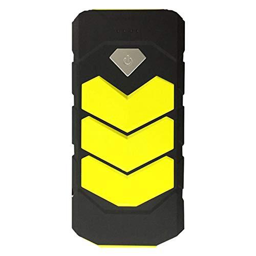 Haude Arrancador de Emergencia para AutomóVil BateríA MultifuncióN PortáTil Dispositivo de Arranque 12V Universal Amarillo