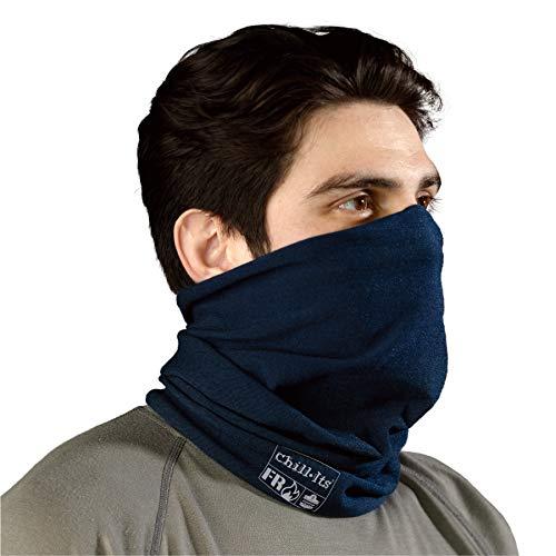 Ergodyne Chill-Its 6486 Fire Resistant Headband, Multifunctional Headwear, Moisture-Wicking, Navy, 10 x 8 x 0.5 Inch