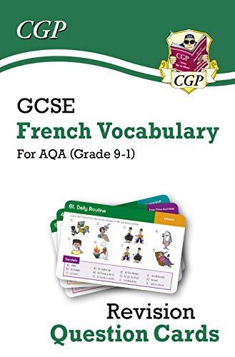 New Grade 9-1 GCSE AQA French: Vocabulary Revision Question Cards (CGP GCSE French 9-1 Revision) by [CGP Books]