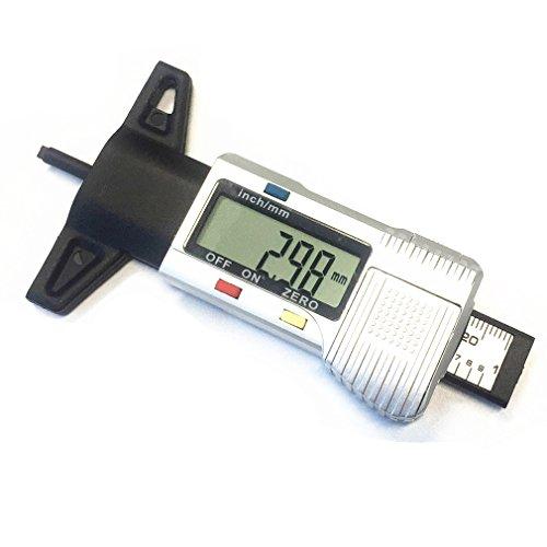 Qiorange LCD Reifenprofil Profiltiefenmesser Reifenprofilmesser
