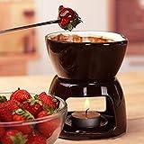 ZHIRCEKE Japanischer und koreanischer Schokoladenschmelzofen,Schokoladenfondue Set Schoko-Fondue...