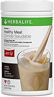 Loss Weight Healthy Meal Nutritional Shake Mix Cookies 'n Cream Flavor 26.4 Oz/750gr