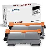SMARTOMI TN2220 TN2010 Cartucho de Tóner Compatible, para Brother MFC-7360N MFC-7460DN DCP-7055 DCP-7060D DCP-7065DN HL-2240 HL-2130 HL-2132 HL-2135W HL-2240 HL-2250DN (Negro, 2-Pack)