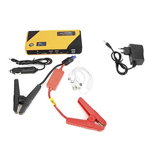 Arrancador portátil, cargador de coche con pantalla LED, para todos los vehículos 12v(European regulations)