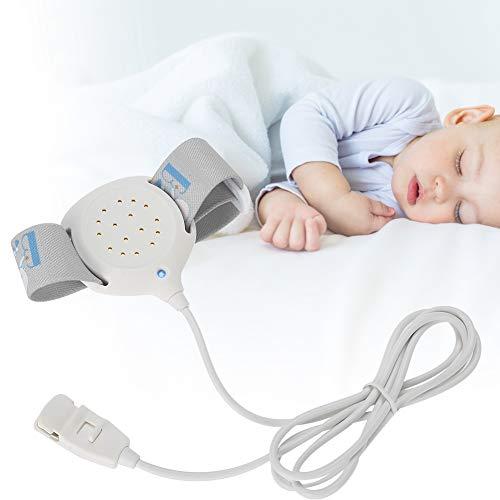 Mojar la Cama de Alarma, Alarma Sensor de Enuresis para Bebes y Ninos y Viejo hombre y Paciente, Prevenir Enuresis con Seguridad de Alta Sensibilidad