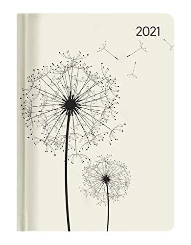 Ladytimer Blowballs 2021 - Pusteblume - Taschenkalender A6 (11x15 cm) - Weekly - 192 Seiten - Notiz-Buch - Termin-Planer