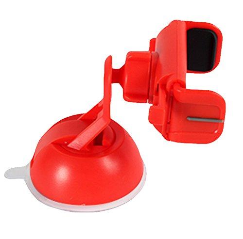Dosige mobielhouder voor de auto voor iPhone 7/6 Plus/6S/6/SE en Android-smartphones, GPS-navigatiesystemen, 360 graden draaibaar, met zuignap