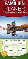 Schottland zum Verlieben - Familienplaner hoch (Wandkalender 2022 , 21 cm x 45 cm, hoch): Abwechslungsreiche Landschaften und vielfaeltige Zeugnisse einer langen Geschichte praegen das Bild Schottlands. (Monatskalender, 14 Seiten )