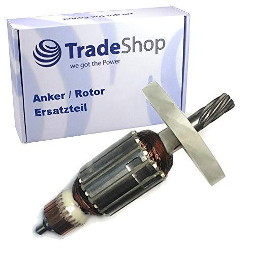 Anker/Rotor/Motor Pieza de repuesto/corredor/colector/paquete de polos con ventilador para Makita martillo de apriete HM 0810 HM 0810B HM 0810T sustituye a 516148 3