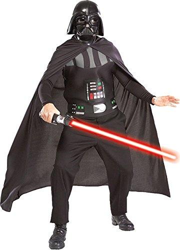Kit Costume Darth Vader Star Wars Uomo - Colore - Nero, Taglia - Taglia Unica