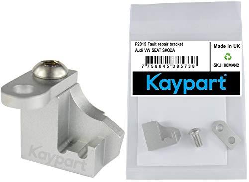 Kaypart 2.0 Soporte de reparación del colector TDI, falla P2015 Admisión 03L129711E 03L129711AG Colector de plástico