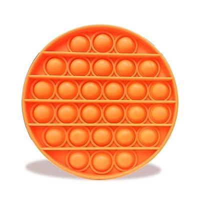 Uni-Fine Burbuja del Pop, Push Pop Pop Fidget Toy Push Bubble Fidget Juguete Sensorial Push Bubble Fidget Pop It Fidget Toy Sensorial de La Burbuja del Pop Adecuado para Niños, Adultos, Ancianos de Uni-Fine