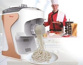 Sirge Pastellla - Máquina para pasta fresca semiautomática con ventilación, 14 muescas + extrusión vertical + 180 W
