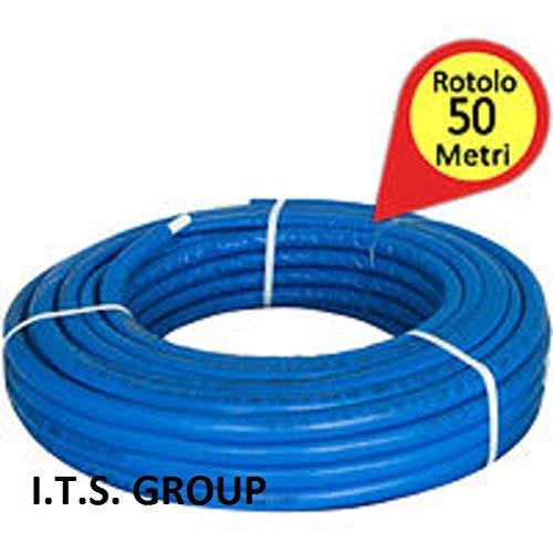Tubo multistrato rivestimento 6 mm 20x2 BLU 50mt