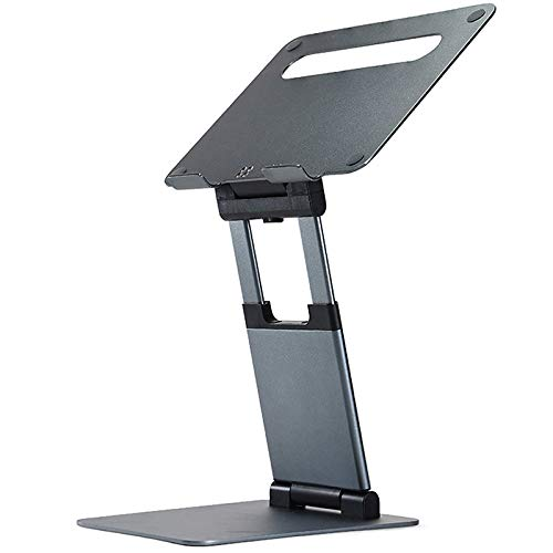 Kaxofang Ergonomic Laptop Stand for Desk,Adjustable Height Up to 20 Inch,Laptop Riser Computer Stand for Laptops 10-17 Inches