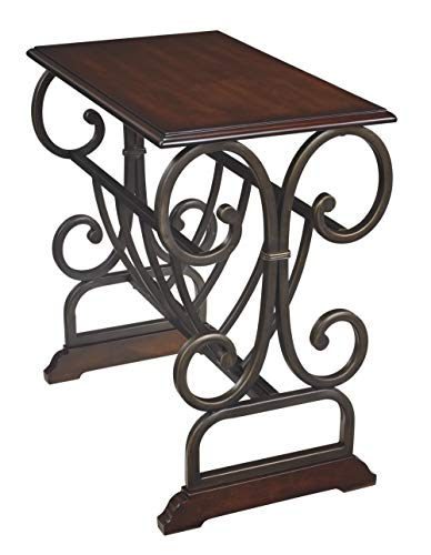 wrought iron side table - 1