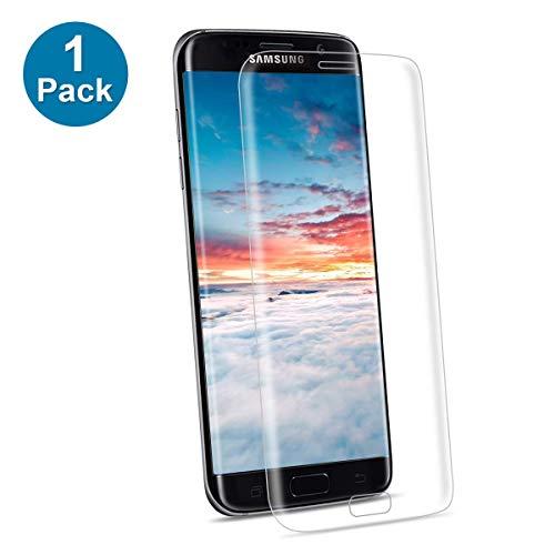 NONZERS Panzerglasfolie für Samsung Galaxy S7 Edge, [1 Stück] 9H Härte Gehärtetem Glas Displayschutzfolie, 3D Vollständige Abdeckung, Anti-Kratzen Ultra Klar Blasenfrei, Samsung S7 Edge Panzerglas