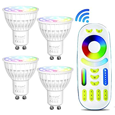 Mi Light 2.4G RGB+CCT Touch Remote Controller, 4-Zone Wi-Fi Group Control