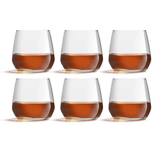 Libbey Bicchiere d'acqua Vico - 370 ml / 37 cl – set di 6 pezzi - lavabile in lavastoviglie - bicchiere elegante - alta qualità