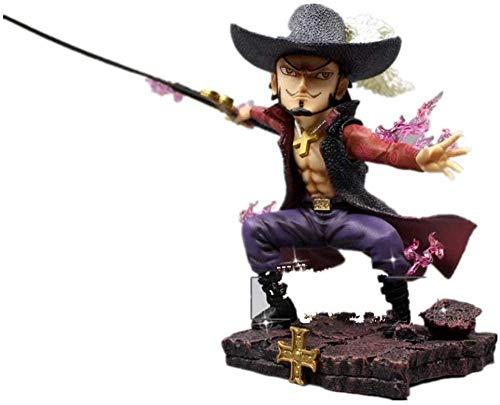 NoNo Anime Charakter One Piece Figur Dracule Mihawk Figur Figur Anime Figur Action Figur