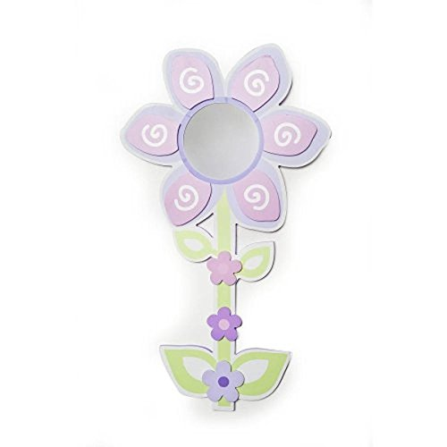 Babies'R'Us Mirror Baby Girl Flower Wall Decor Pink