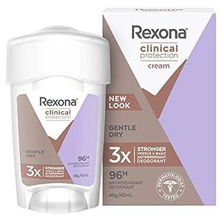 Rexona Women Antiperspirant Cream Deodorant Clinical Protection, 45ml (B07BLJVSMQ) | Amazon price tracker / tracking, Amazon price history charts, Amazon price watches, Amazon price drop alerts