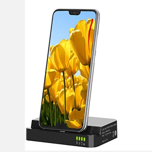 LTLJX USB Hub de Datos con 4K HDMI, 2 USB3.0, Tarjeta SD/TF, Multi Soporte de Carga para Teléfono Móvil per Huawei Mate10, P20, Samsung S8, S9