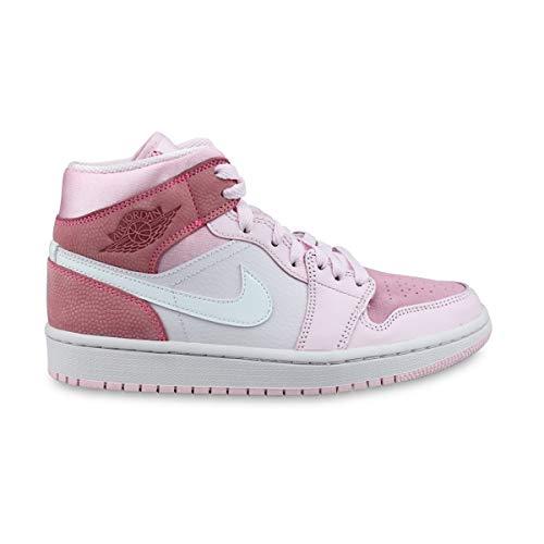 WMNS Air Jordan 1 Mid Digital Pink Cw5379-600, (Rosa), 41 EU