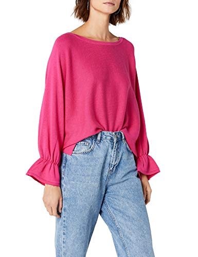 comma Damen 81.803.90.4466 Poncho, Rosa (Pink 4462), One Size